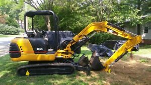 2012 Caterpillar 303 5 Mini excavator Financing Available