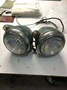 Vintage Guide Headlights 1939 Plymouth Truck 1932 Model A