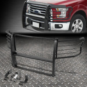 For 15 19 Ford F150 Powdercoated Steel Front Bumper Brush Grille Guard Frame