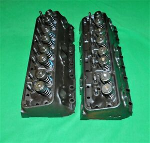 62 Corvette Impala Sbc Double Hump 3782461 461x Cylinder Heads Refurbished