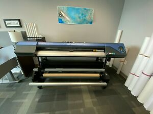 Roland Vs 540 Wide Format Solvent Printer 54 With Take Up Reel