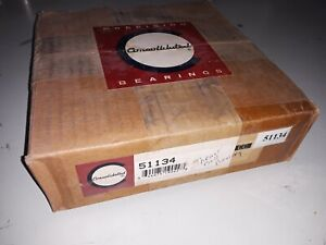Consolidated Precision 51134 Thrust Ball Bearing 170 X 215 X 34 Mm