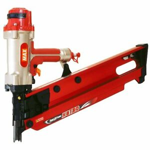 Max Usa Hs130 5 1 8 inch Powerlite High Pressure Stick Framing Nailer Hs90300