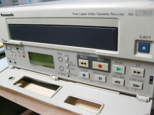 Panasonic Ag rt600p Real Time Lapse Video Recorder excellent Condition