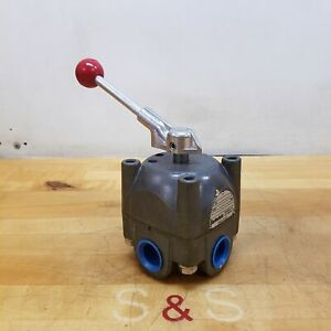 Barksdale 6144r3hc3 Directional Control Valve 3000 Psi Used
