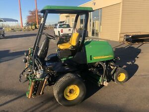 John Deere 3235c 1716hrs Golf Fairway Mower 4wd 110 Cutting Diesel