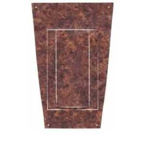 Console Cover Insert Trim For Oldsmobile Cutlass 1971 Vinyl King s Walnut 1pc