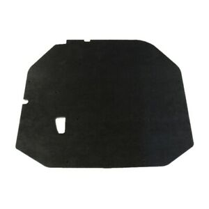 Hood Insulation Pad For 1987 1993 Ford Mustang 1 2 Gray Black 1pc
