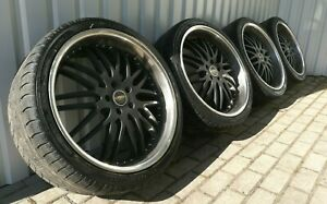 Bmw X5 E70 E71 Royal Porsche Gt R22 Wheels Tyres 22x9 5j Et45