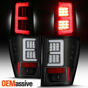 For 2005 2006 Jeep Grand Cherokee 4door E Tube Bar Led Black Tail Lights Pair