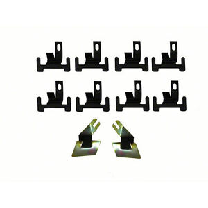 Front Lower Windshield Moulding Clips 10 Pieces 4020 525 674k