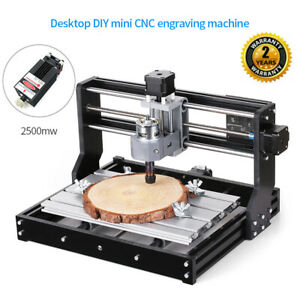 Cnc3018 Pro Diy Cnc Router 2in1 Laser Engraving Machine 2500mw Er11 Collet