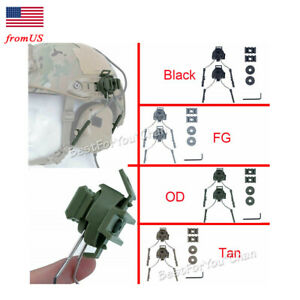 Tactical Military Headset Rail Adapter for COMTAC Fast Helmet Side Rail USA $17.09