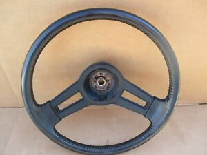 1984 1985 1986 1987 1988 Monte Carlo Ss Steering Wheel Oem Very Nice Black