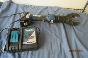 Sherman Reilly textron Cordless Hydraulic Cable Cutter Makita 5 0ah Battery