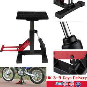 Hydraulic Motorcycle Motorbike Bike Stand Lift Jack Workshop Bench Repair Table