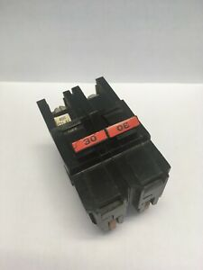 Fpe Federal Pacific 30 Amp 2 Pole Thick Circuit Breaker