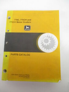 John Deere Parts Manual For 770c 770ch 772ch Motor Graders pc2549