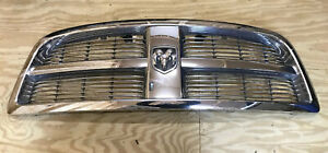 2009 2010 2011 2012 Dodge Ram 1500 Ds Front Chrome Grill Oem