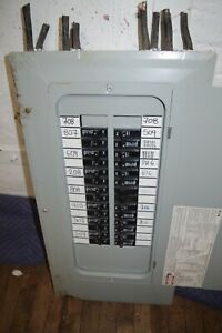 Eaton Switch Panel Breaker Box Circuit Breaker Fuse Pre Owned