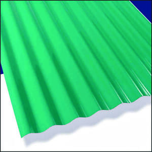 Sun n rain 106624 Translucent Corrugated Roofing Panel 26 In W X 12 Ft L