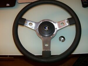 Triumph Spitfire 14 Leather Steering Wheel Horn