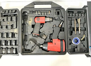 Central Pneumatic 1 2 In Air Impact Wrench Air Hammer With Carry Case 93217