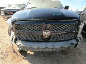 Grille With Rams Head Emblem Matte Black Fits 13 18 Dodge 1500 Pickup 425488