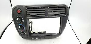 1999 2000 Honda Civic Ek Heater Climate Control Radio Vents Bezel Trim Oem No 1