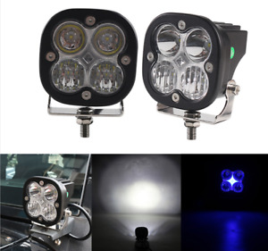 Universal 3 Inch Off Road Baja Style Cree Led Auxiliary Pod Lights