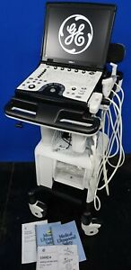 Ge Logiq E Ophthalmic Diagnostic Ultrasound System More 90 Day Warranty