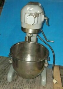 Hobart A 200 A200 Commercial Mixer Bowl Stand Dough Bakery 1 3hp 00