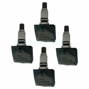Fm Us 4x Tire Pressure Monitoring System Tpms Sensor 433mhz For Lincoln Aviator