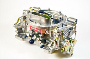Edelbrock 1407 750 Cfm Remanufactured Carburetor Manual Choke