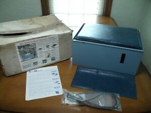 Vintage Seat Mate By Auto Mate Car Truck Storage Container In Box