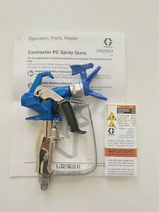 New Graco Rac X Contractor Pc Airless Paint Spray Gun 17y042 With1 4 25ft Hose
