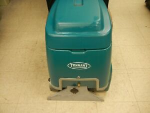Tennant E5 Deep Cleaning Extractor Walk behind 5 Gallon Carpet Cleaner Scrubber