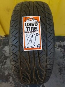 Used 2055515 Dunlop Spsport 5000 P205 55zr15 No Repairs 8 9 32nds A
