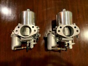 Set Of Rebuilt Su Hs8 Carbs