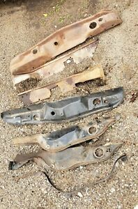 60s Chevy Corvair Engine Area Tin Shields Shrouds Covers Parts Lot