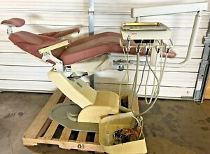 Marus Model Dc1680 Dental Exam Chair W Continental Post Mount Doctor s Delivery