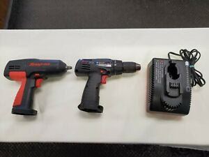 Snap On Cordless 3 8 Impact Wrench Cordless Screw Driver Drill And Charger