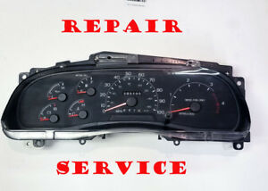Ford F150 250 350 450 1999 2000 01 02 03 Cluster Software Odometer Calibration