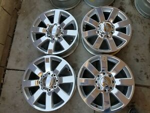 2013 2108 20 Dodge Ram 2500 Longhorn 3500 Factory Oem Wheels Rims Set Of4