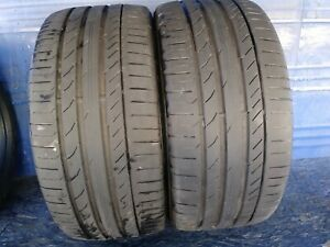 2 Continental Sport Contact 5 Ssr Rft 275 40 20 Bmw 6 5 7 32nd Tread Left 106 W