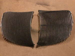 1939 1942 Lincoln Zephyr Grill Grilles Set
