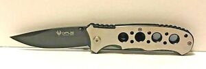 """Opus Tactical Knives 8"""" Folder Knife 3.5quot; Drop Point 440 Stainless Blade New $12.99"""