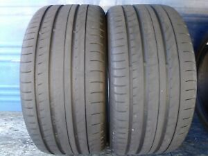 2 Yokohama Advan Sport V105 265 40 Zr19 Porsche With 5 5 32nd Tread Left 98 Y
