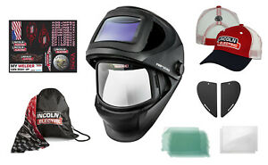 Lincoln Viking 3250d Fgs Welding Helmet K3540 3 W free Hat Accessories