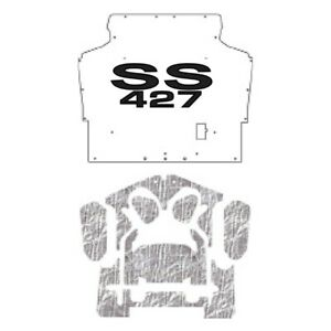 Hood Insulation Pad Cover For 1970 1974 Chevrolet Camaro F Body W G Ss427 Ss 427